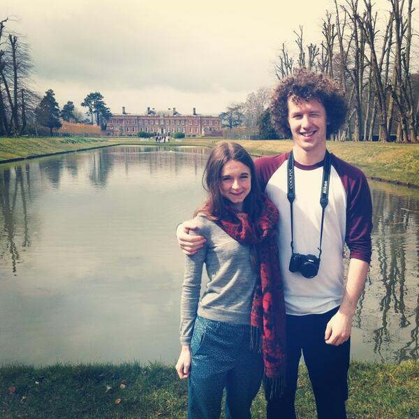 Grace & her boyfriend, Danny
